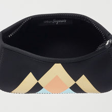 Goddess Makeup Bag - Geometric Black