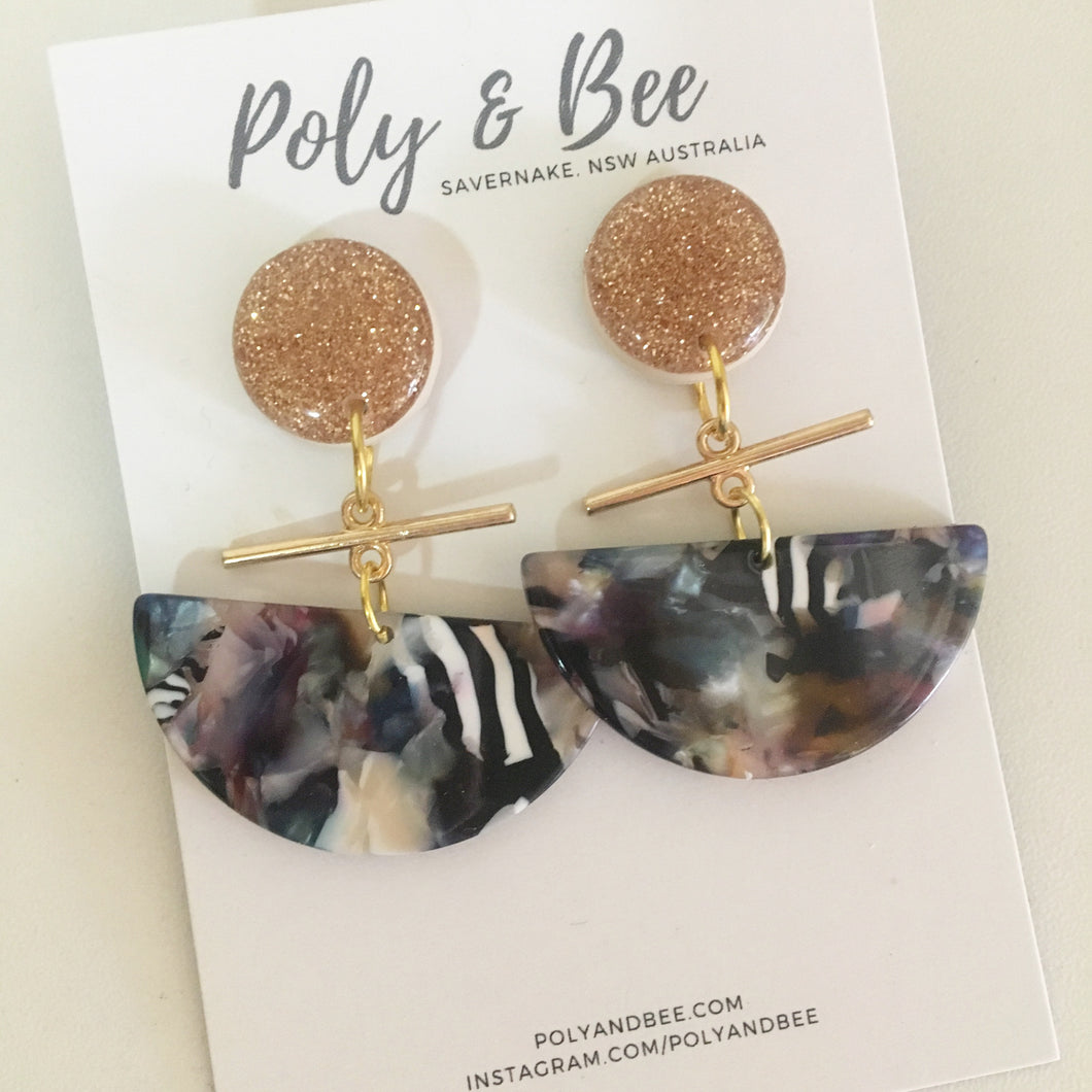 Adelong Statement Earrings - Poly & Bee