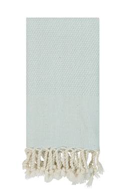 Luxe Authentic Turkish Towel - Mint