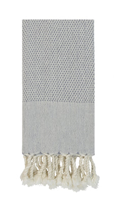 Luxe Authentic Turkish Towel - Stone