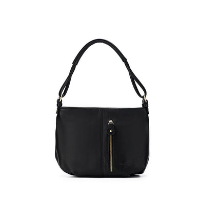 Amelia Black Crossbody bag by Black Caviar Designs