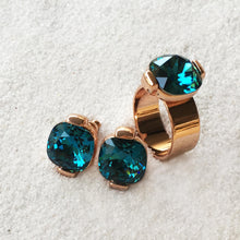 Sea Glam Duo (Ring & Earrings) by BIDILIIA