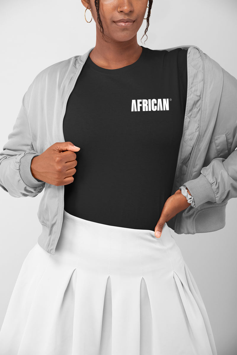 The AFRICAN T-shirt - heart placement