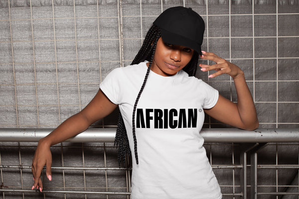 The AFRICAN T-shirt - White