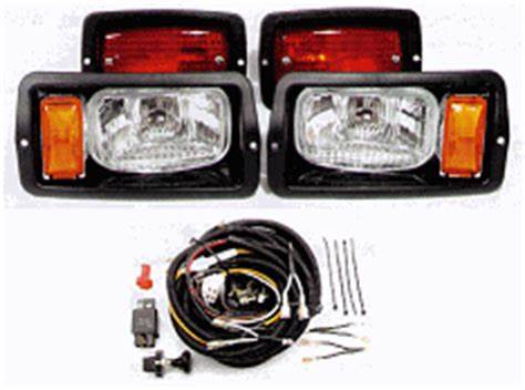 Club Car DS Headlights / Taillights / Wire Harness