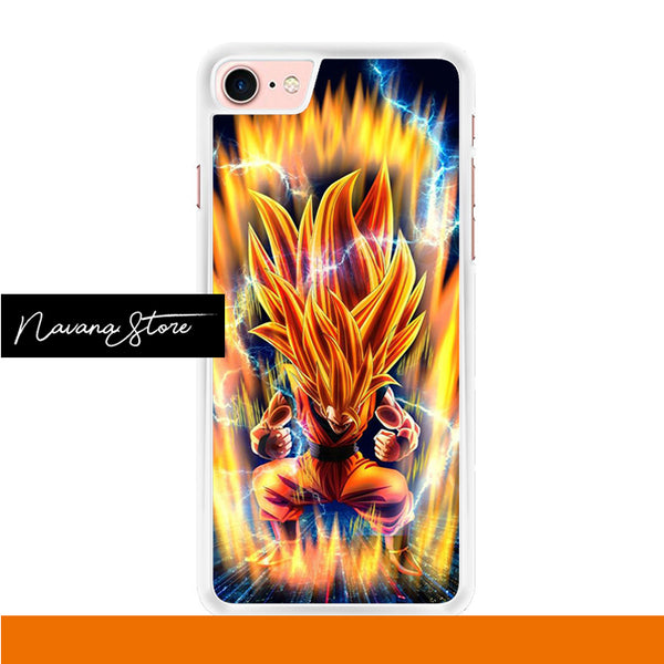Goku Power Up Iphone 7 Case