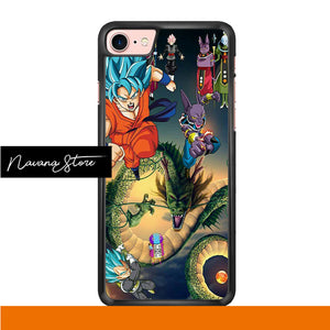 Exclusice Dragon Ball Iphone 7 Case