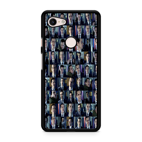 Moriarty Face Collage Google Pixel 3 XL Case