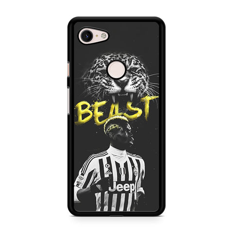 Paul Pogba Beast Google Pixel 3 XL Case