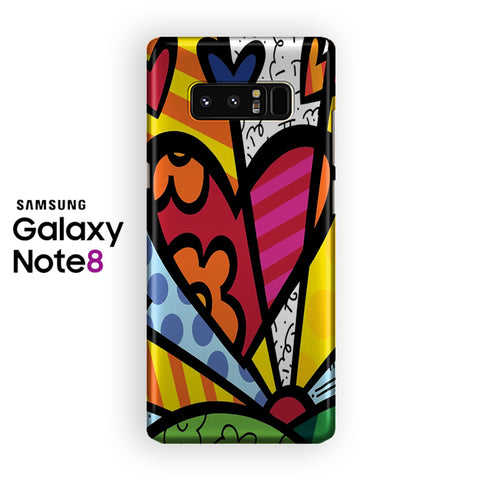 Romero Britto Pop Samsung Galaxy Note 8 Case