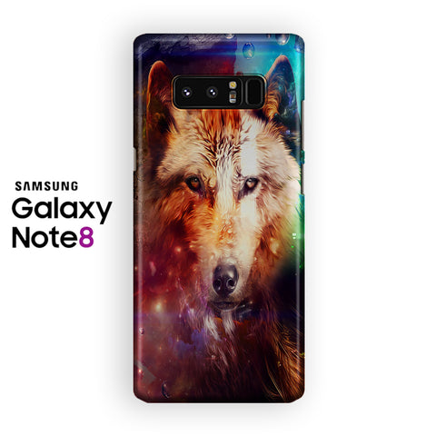 Galaxy Wolf Samsung Galaxy Note 8 Case