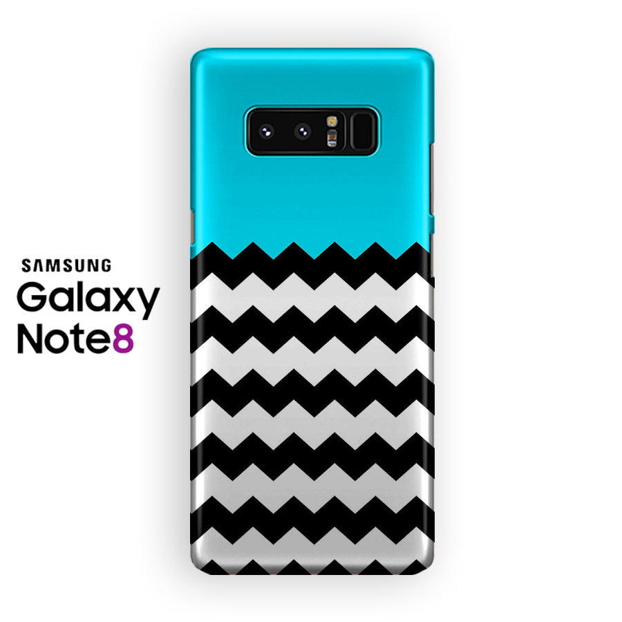 Blue Tribal Pattern Samsung Galaxy Note 8 Case