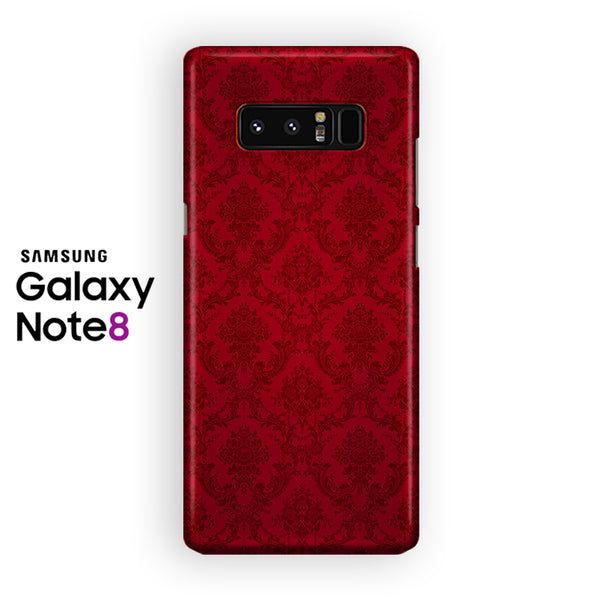 Red Damask Samsung Galaxy Note 8 Case