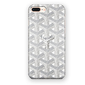 buy online 8fee1 9ef4a Black and White Goyard iPhone 7 Plus / 8 Plus Case