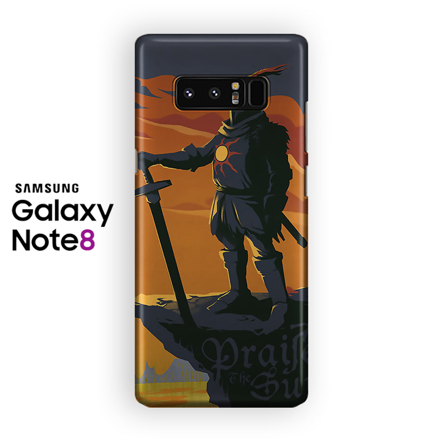 Praise The Sun Solaire Of Astora Samsung Galaxy Note 8 Case