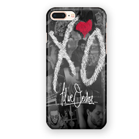 Xo The Weeknd Til We Overdose iPhone 7 Plus / 8 Plus Case