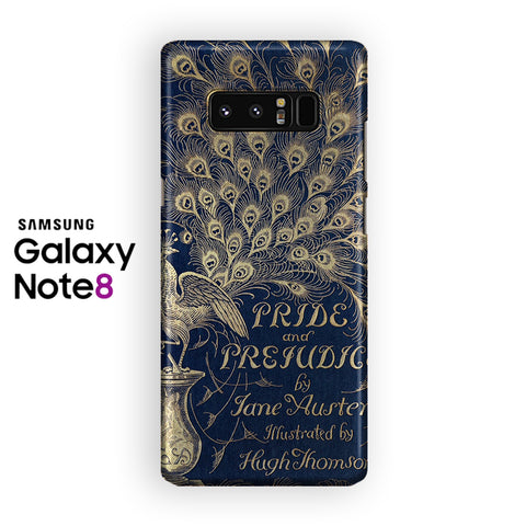 Pride And Prejudice Book Samsung Galaxy Note 8 Case