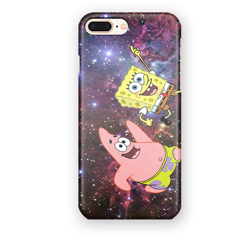 Spongebob Squarepants And Patrick Star Space iPhone 7 Plus / 8 Plus Case