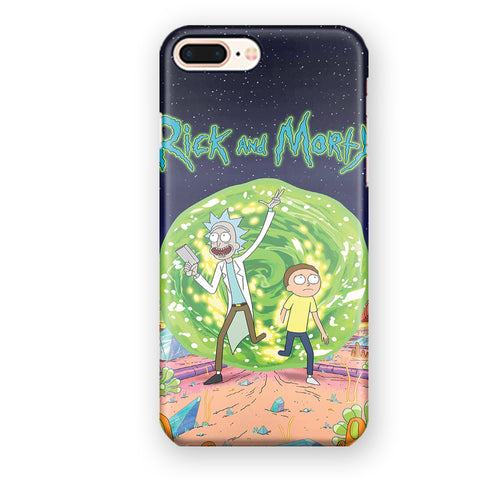Rick And Morty Season 1 Episode1 iPhone 7 Plus / 8 Plus Case