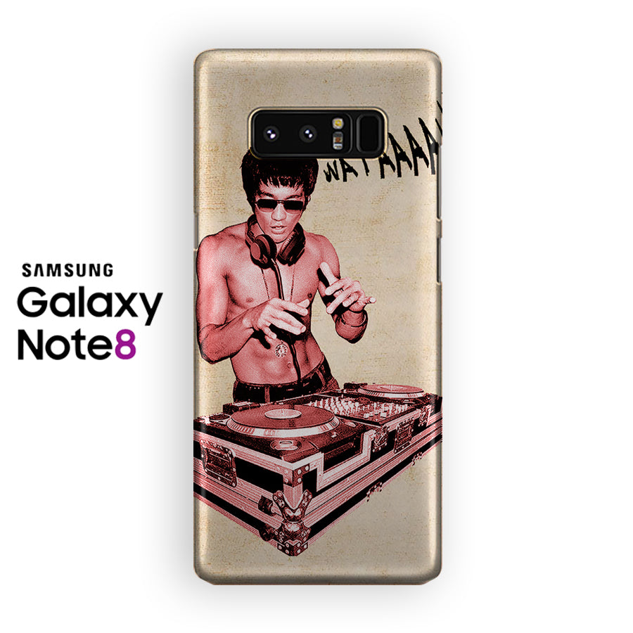 Bruce Lee The Dj Samsung Galaxy Note 8 Case