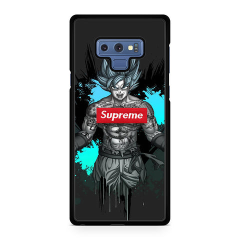 Goku Tattoo Supreme Samsung Galaxy Note 9 Case