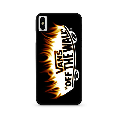 Vans Flame Logo iPhone X | iPhone Xs Case
