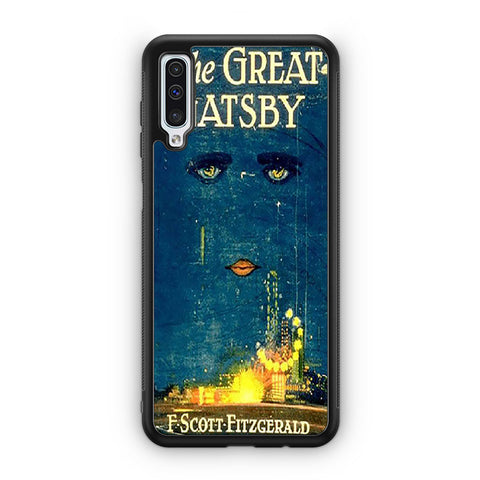 Vintage Book The Great Gatsby Samsung Galaxy A50 Case