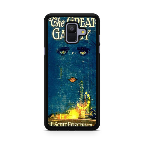 Vintage Book The Great Gatsby Samsung Galaxy A6 2018 Case