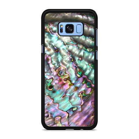 Abalone Shell Pink Samsung Galaxy S8 Plus Case
