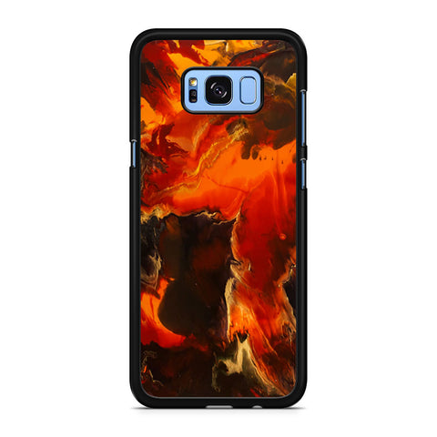 Abstract Acrylic Pour Painting Samsung Galaxy S8 Plus Case