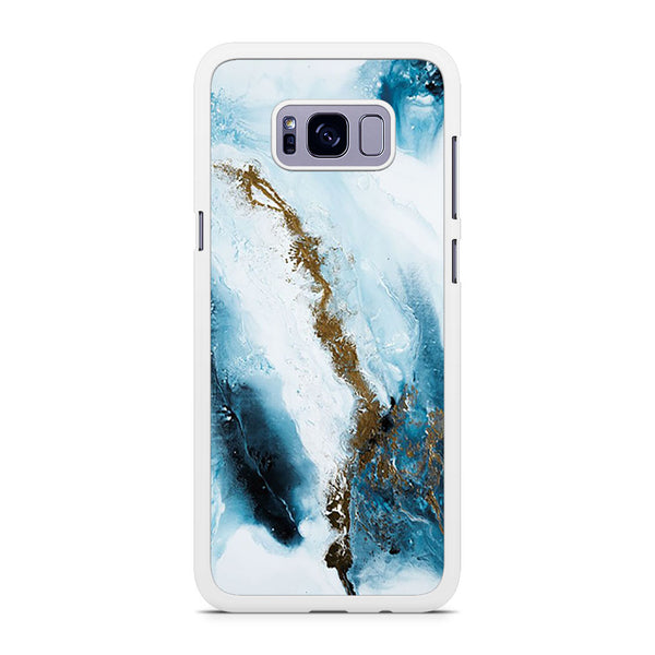 Abstract Blue And Gold Samsung Galaxy S8 Plus Case