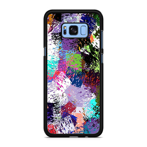 Abstract Color Pattern Samsung Galaxy S8 Plus Case