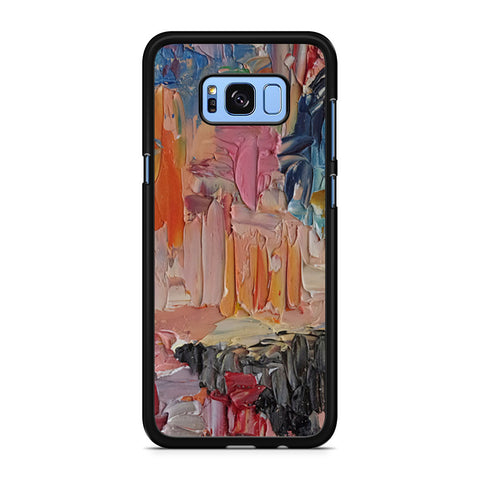Abstract Coloured Oil Painting Samsung Galaxy S8 Plus Case