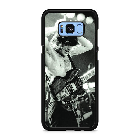 AC DC Angus Young Leicester Samsung Galaxy S8 Plus Case
