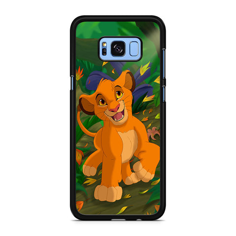 Autumn Leaves Simba Samsung Galaxy S8 Plus Case