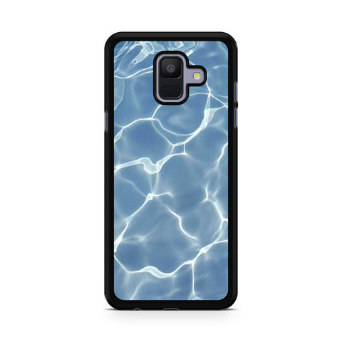 Water Texture Samsung Galaxy A6 2018 Case