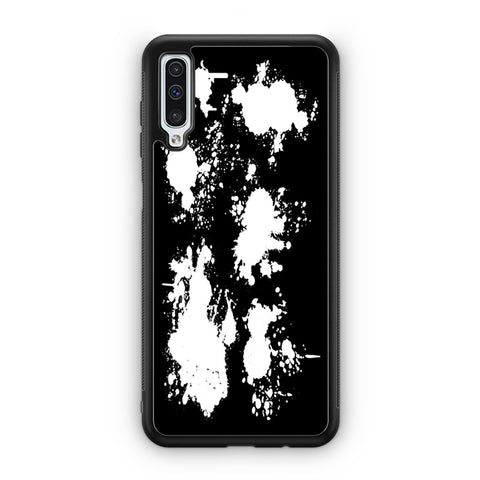 White Splash Samsung Galaxy A50 Case