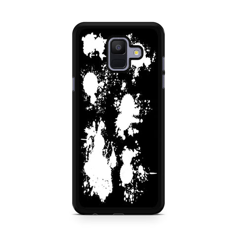 White Splash Samsung Galaxy A6 2018 Case