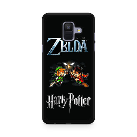 Zelda Harry Potter Samsung Galaxy A6 2018 Case