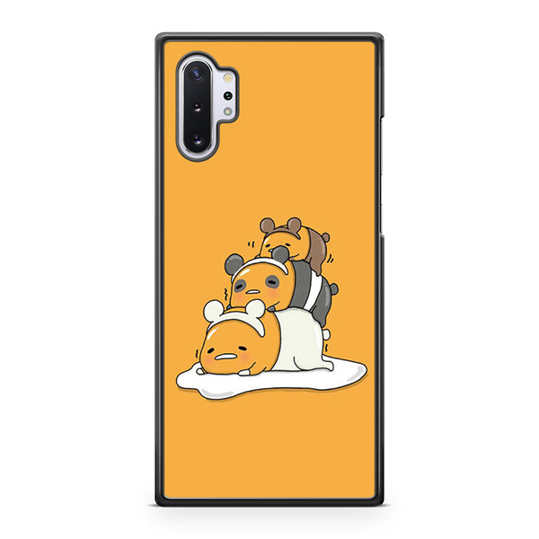 Gudetama x We Bare Bears Samsung Galaxy Note 10 Plus Case