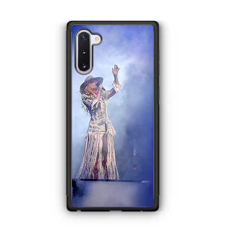 Lady Gaga Perfomance Joanne World Tour Samsung Galaxy Note 10 Case