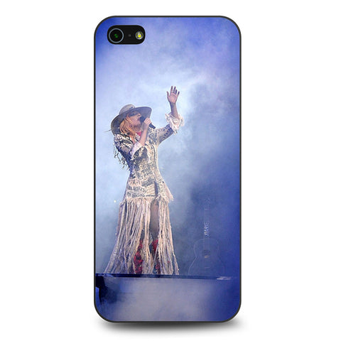 Lady Gaga Perfomance Joanne World Tour iPhone 5 | 5S | SE Case