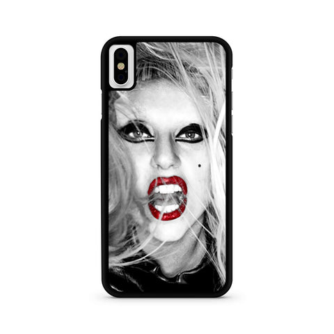 Lady Gaga Red Lips iPhone X | iPhone Xs Case
