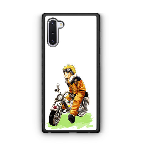 Naruto Ride Motorcycle Samsung Galaxy Note 10 Case