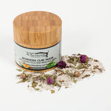 Ayurveda Clay Mask with medicinal Neem and sacred Tulsi