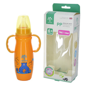 Minitree Baby Plastic 270ml Feeding Bottle With Nipple