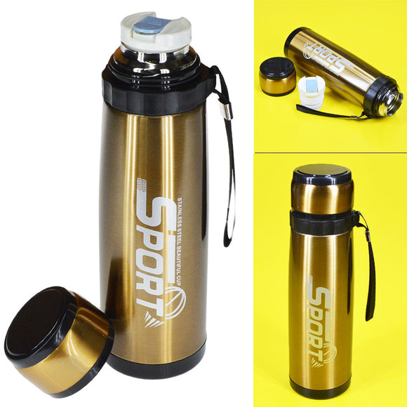 SZM Stainless Steel 800ml  Water Bottle