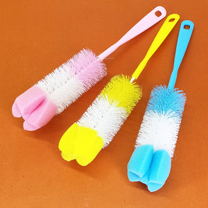 Fashion Bottles Cleaning Brush ( Random Colors )