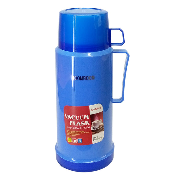 Boom 1-Litre Tea / Coffee & Water Thermal Flask (Inside Glass)