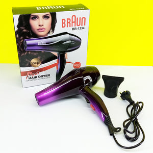 Braun BR-1334 Hair Dryer With Double & Single Heat Mode